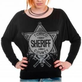 Tee Shirt Manches Longues Femme TOXICO - Sheriff