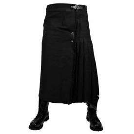 Kilt Mec TIGER OF LONDON - Tol Black Long Kilt