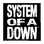 Sticker SYSTEM OF A DOWN - Lettrage