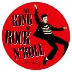 Sticker ELVIS PRESLEY - The King