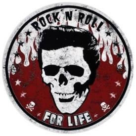 Sticker DIVERS - Rock N Roll For Life