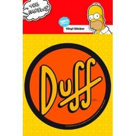 Sticker SIMPSON - Duff Label