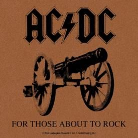 Sticker AC/DC - For Those About To Rock
