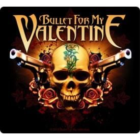 Sticker BULLET FOR MY VALENTINE - Two Pistols