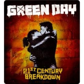 Sticker GREEN DAY - 21st Century Breakdown