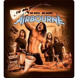 Sticker AIRBOURNE - No Guts No Glory Cover