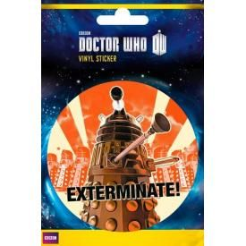 Sticker DOCTOR WHO - Exterminate