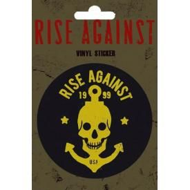 Sticker RISE AGAINST - Skull Anchor