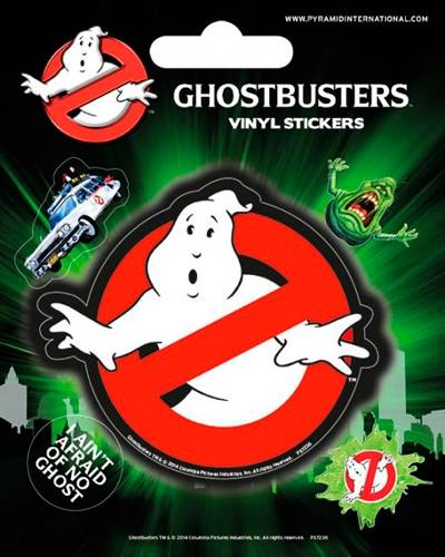Image de Pack de 5 Stickers GHOSTBUSTERS - Slime