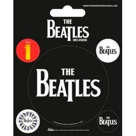 Pack de 5 Stickers THE BEATLES - Logos