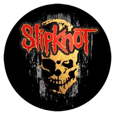 Sticker Slipknot Gray Chapter Skull Stickers Rock A Gogo