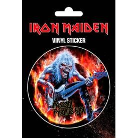 Sticker IRON MAIDEN - Live Fear Of The Dark
