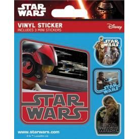 Pack de 4 Stickers STAR WARS - Resistance
