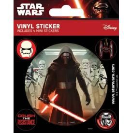 Pack de 5 Stickers STAR WARS - Kylo Ren