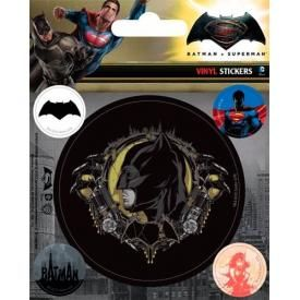 Pack de 5 Stickers BATMAN V SUPERMAN - Batman