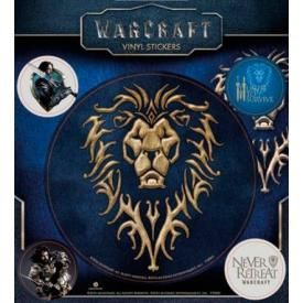 Pack de 5 Stickers WARCRAFT - The Alliance