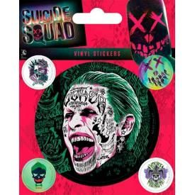 Pack de 5 Stickers SUICIDE SQUAD - Joker