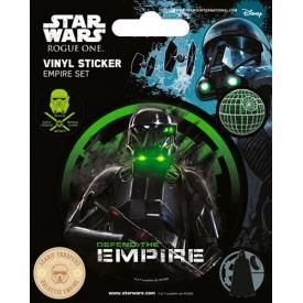 Pack de 5 Stickers STAR WARS - Rogue One Empire Set