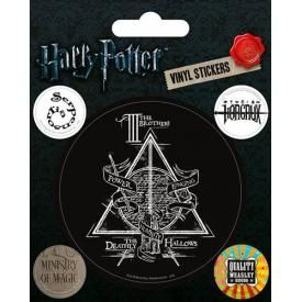 Pack de 5 Stickers HARRY POTTER - Deathly Hallows