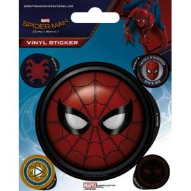 Pack de 5 Stickers SPIDER-MAN - Big Face