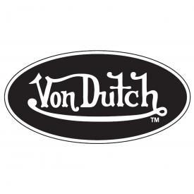 Sticker VON DUTCH - Logo Noir et Blanc