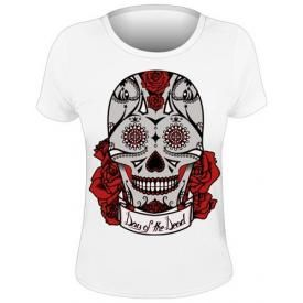 Tee Shirt Femme DIVERS - Day Of The Dead