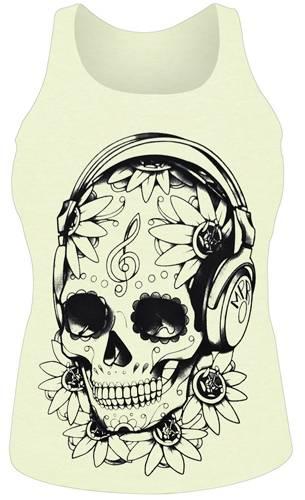 d bardeur femme divers t te de mort mexicaine musique d bardeurs rock a gogo. Black Bedroom Furniture Sets. Home Design Ideas