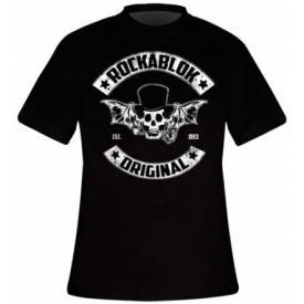 T-Shirt Homme ROCKABLOK - MC