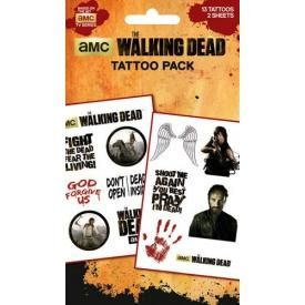 Pochette de TATOUAGES TEMPORAIRES - The Walking Dead