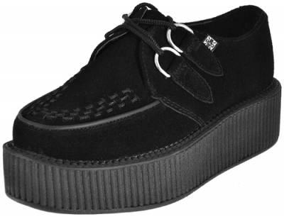 Chaussures TUK Mondo Creepers Viva Suede Rock A Gogo