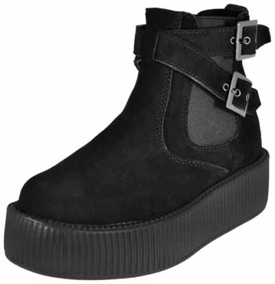 chaussures tuk creepers montantes chelsea rock a gogo. Black Bedroom Furniture Sets. Home Design Ideas