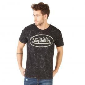 T-Shirt Homme VON DUTCH - Logo Vintage