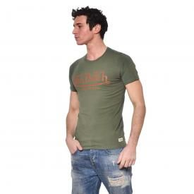 T-Shirt Homme VON DUTCH - Logo Kaki