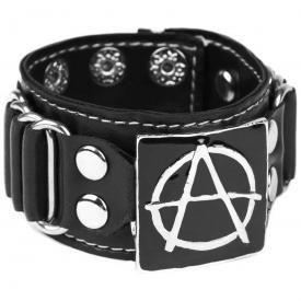 Bracelet SIMILI CUIR - Anarchy