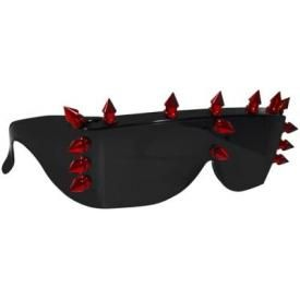 Lunettes de Soleil CYBER - Red Spikes